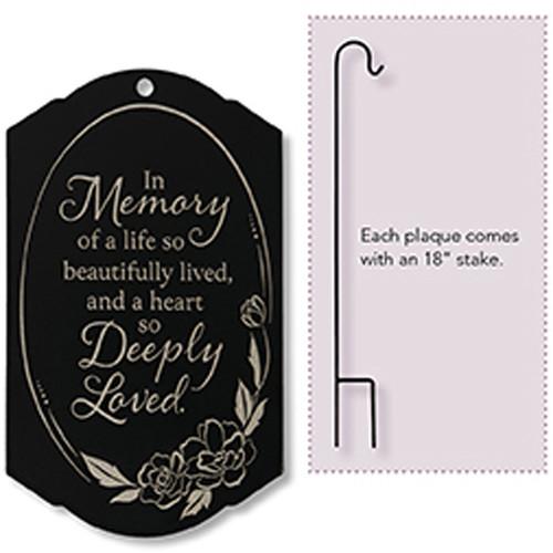 """""""Deeply Loved"""" Memorial Stake"""