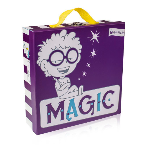 Deluxe Magic Activity Kit for Kids - Ages 4-12