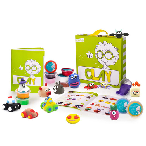 Air Dry Clay Activity Kit for Kids - Ages 4-12