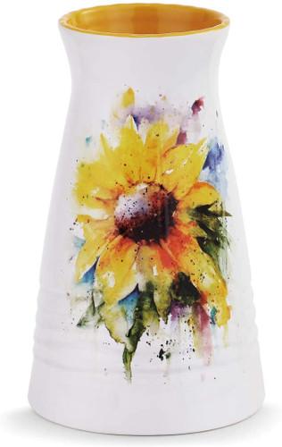 Sunflower Vase  By Dean Crouser