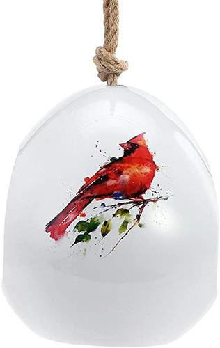 Spring Cardinal  Birdfeeder By Dean Crouser