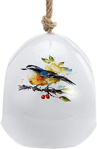 Nuthatch and Berries  Birdfeeder By Dean Crouser