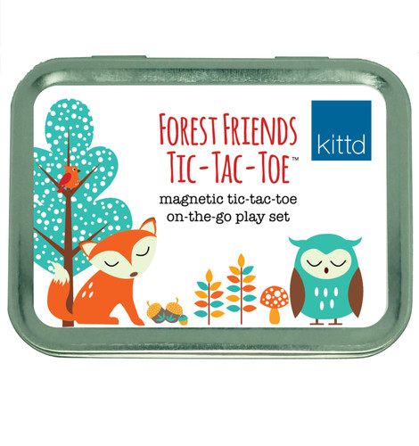 Forest Friends Tic-Tack- Toe - On the Go