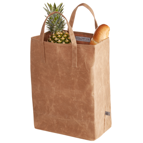 Canvas Grocery Bag- Recycle- Renew and Reuseable