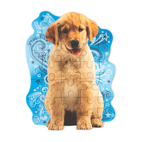 Golden Puppy Mini Puzzle- Ages 3 and Up