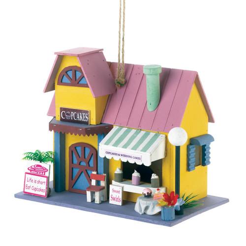 Cupcake Bakery  Birdhouse