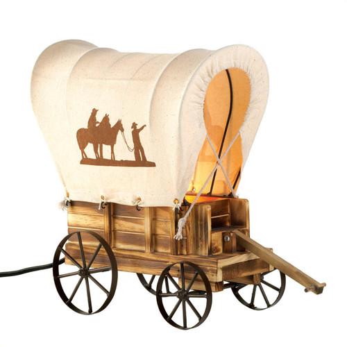 Western Wagon Table Lamp