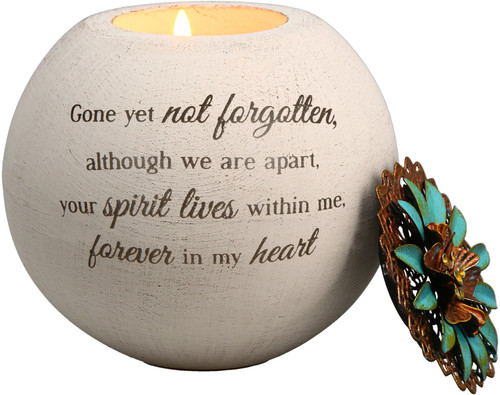 """Forever in my Heart ~ 4"""" Tea Light Candle Holder"""