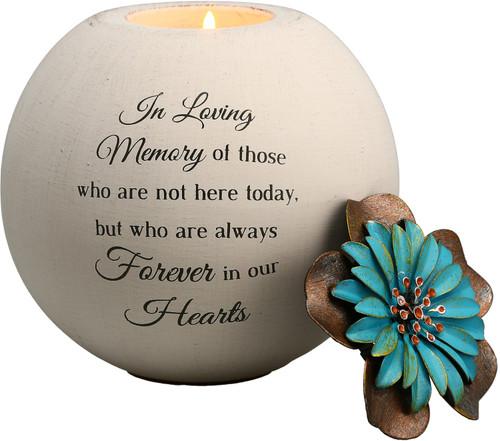 "In Loving Memory  ~ 5"" Tea Light Candle Holder"