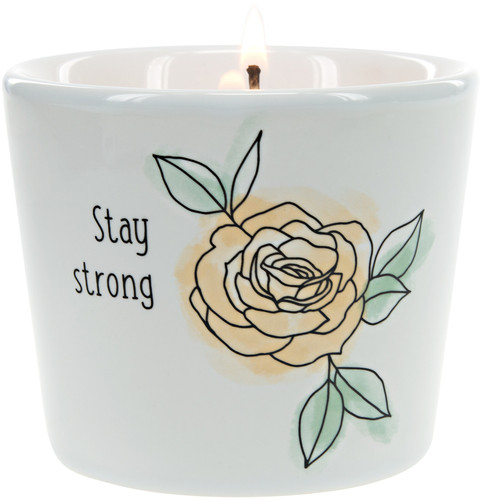Stay Strong ~ 8oz 100% Soy Candle
