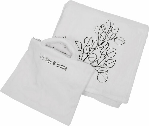"""Never Doubt ~ 50"""" X 60"""" Travel Blanket W/Case"""