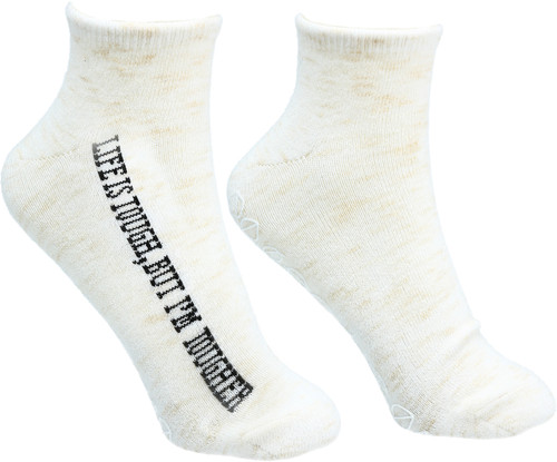 Life's Tough~ Low Cut Moisturizing Gel Socks