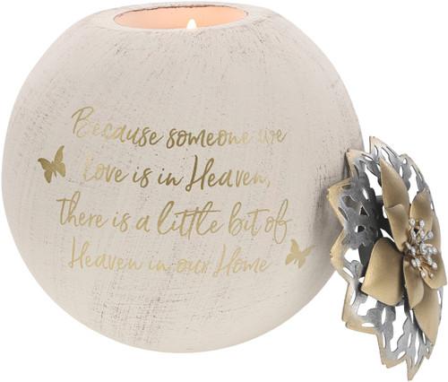 """Heaven ~ 5"""" Tea Light Candle Holder"""