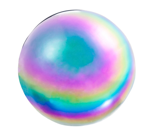 Metallic Wonder Stainless Steel Gazing Ball, Multi by Evergreen