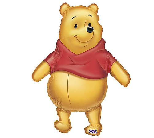 "29"" Winnie the Pooh ~ Super Shape Mylar Balloon"