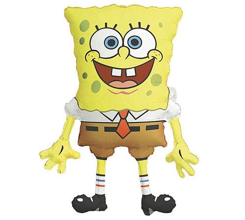 "28"" Spongebob Squarepants ~ Super Shape Mylar Balloon"