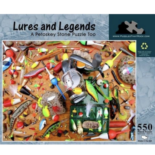 Legands and Lures Jigsaw Puzzle 550 Piece