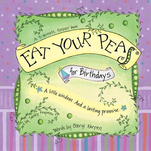 Eat Your Pea's for Birthday ~~Personalized Greeting Card/Gift Book