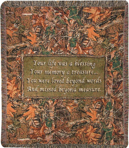 Natures Blessings  Throw Quilt