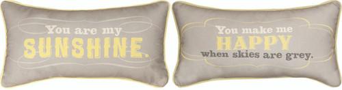 You are my Sunshine Mini Throw Pillow