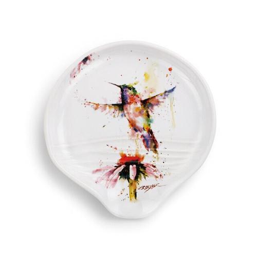 PeeWee Hummingbird Spoon Rest by Dean Crouser