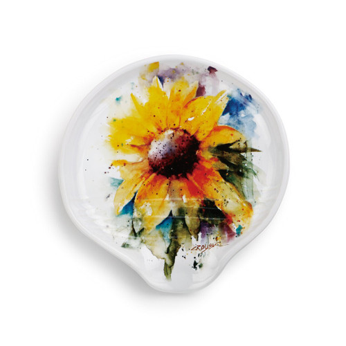 Sunflower Spoon Rest by Dean Crouser