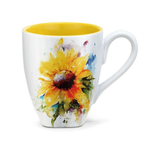 Sunflower Mug  By Dean Crouser