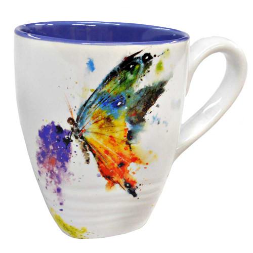 Kaleidoscope Butterfly  Mug  By Dean Crouser
