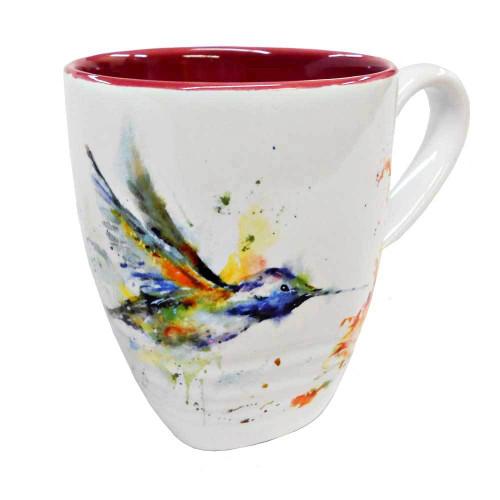 Hummingbird  Mug  By Dean Crouser