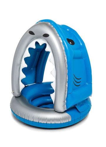 Shark with Canopy Pool Float