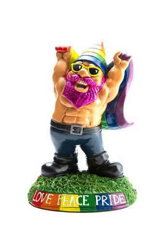 Pride Garden Gnome