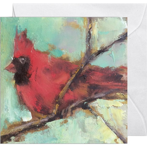 Cardinal Enclosure Card By Anne Nielson