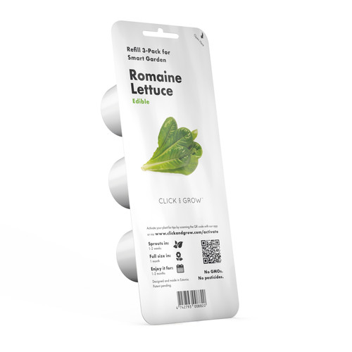 Romaine Lettuce Plant Pods for Smart Garden by Click and Grow