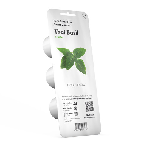 Thai Basil Plant Pods for Smart Garden by Click and Grow