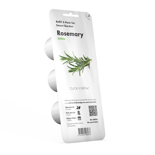 Rosemary Plant Pods for Smart Garden by Click and Grow
