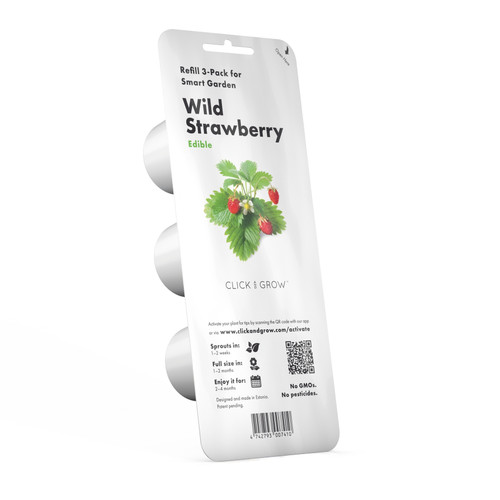 Wild Strawberry Plant Pods for Smart Garden by Click and Grow
