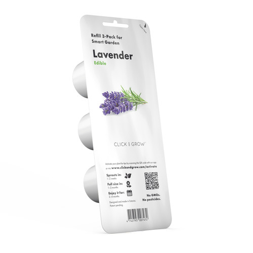 Lavender Plant Pods for Smart Garden by Click and Grow