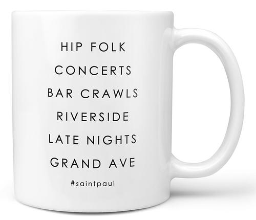 #St. Paul Neighborhood Ceramic Mug