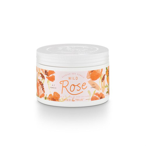 Wild Rose Small Tin By  Tried & True
