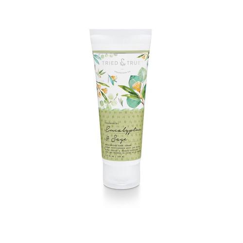 Eucalyptus and Sage  Hand Cream  By  Tried & True