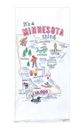 """""""It's a Minnesota Thing!"""" Tea Towel by Kaydee Designs"""