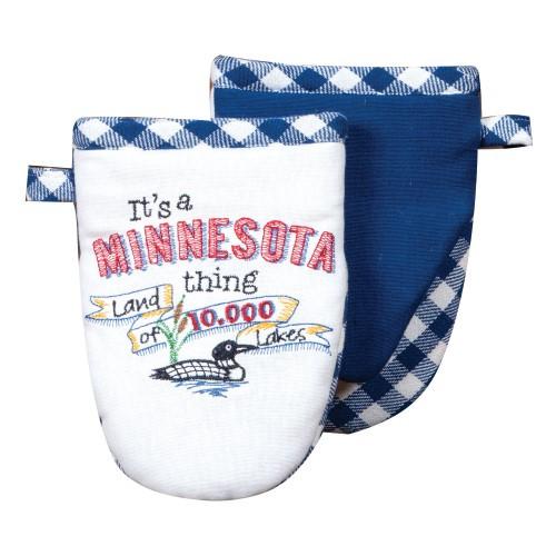 """It's a Minnesota Thing!"" Grabber Oven Mitt by Kaydee Designs"
