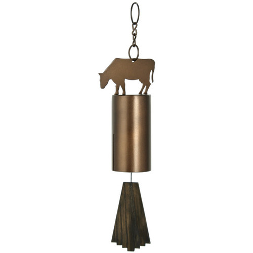 Windbell Chime by Woodstock -Bronze Cow
