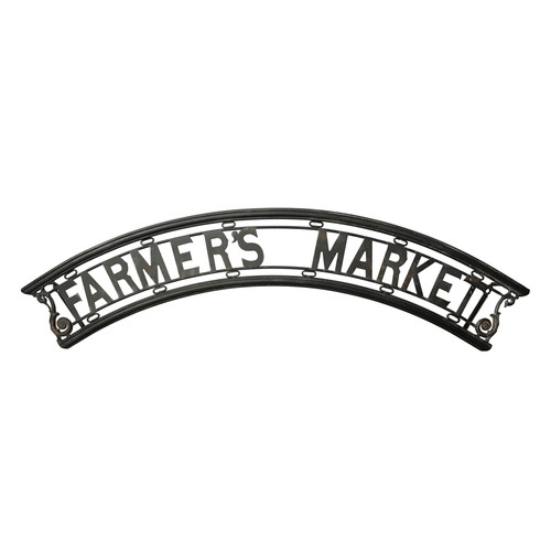 "48"" Farmers Market Marque Wall Sign"