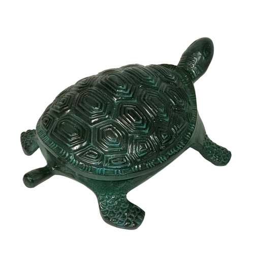 "13.5"" Cast Aluminum Turtle Door Stop"