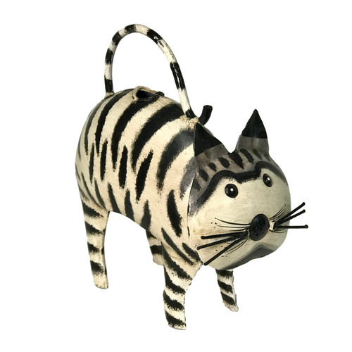Cocco the Cat~ Plant Pals Metal Watering Can