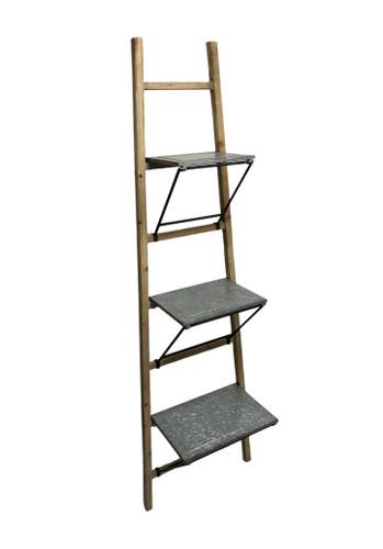 "73"" Fold Out Shelf Ladder"