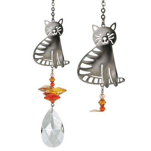 Crystal Fantasy by Woodstock - Tabby Cat