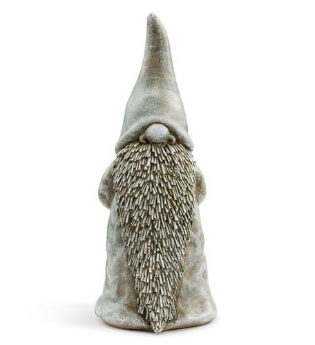 "9.25"" Grey Garden Gnome by Napco"