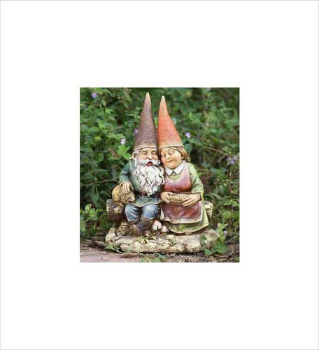 "12""Gnome Couple  by Napco"